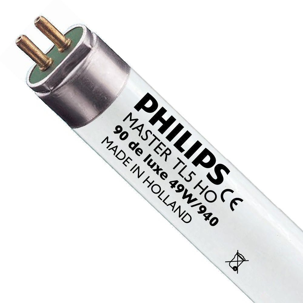 Philips TL5 HO 90 De Luxe 49W 940 (MASTER) | 145cm - Blanc Froid