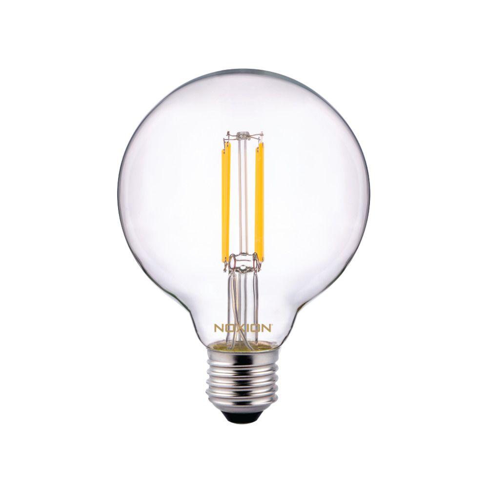 Noxion PRO LED Globe Classic Filament G95 E27 6.5W 827 Claire | Blanc Très Chaud - Substitut 60W