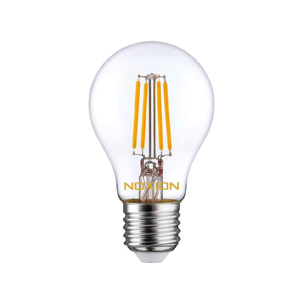 Noxion Lucent Filament LED Bulb 7W 827 A60 E27 Claire | Dimmable - Blanc Très Chaud - Substitut 60W