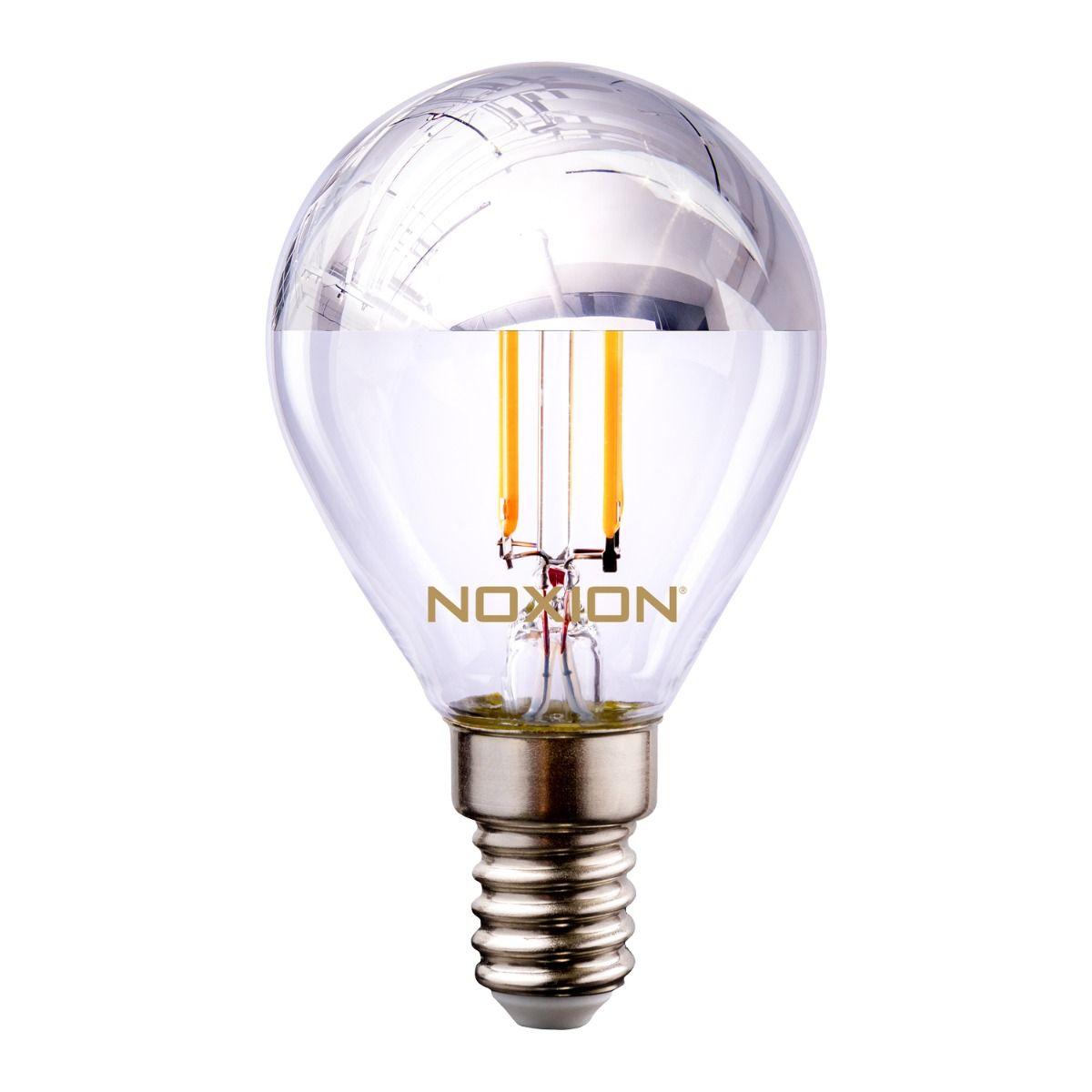 Noxion Lucent Filament LED Lustre Argent Miroir P45 E14 220-240V 4.5W 400LM CRI80 2700K ND (40W eqv)