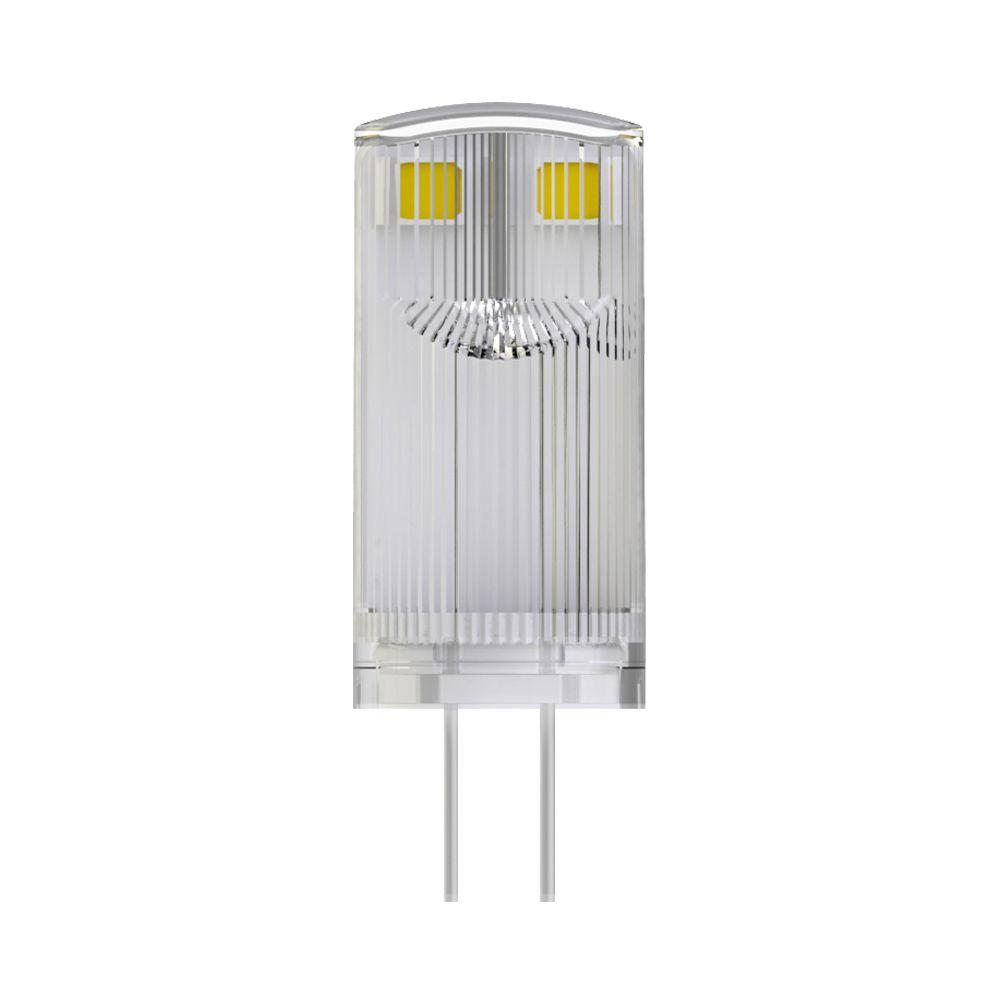 Noxion LED Bolt G4 0.9W 827 12V | Blanc Très Chaud - Équivalent 10W