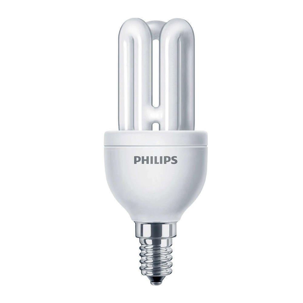 Philips Genie ESaver 8W 827 E14 | Blanc Très Chaud