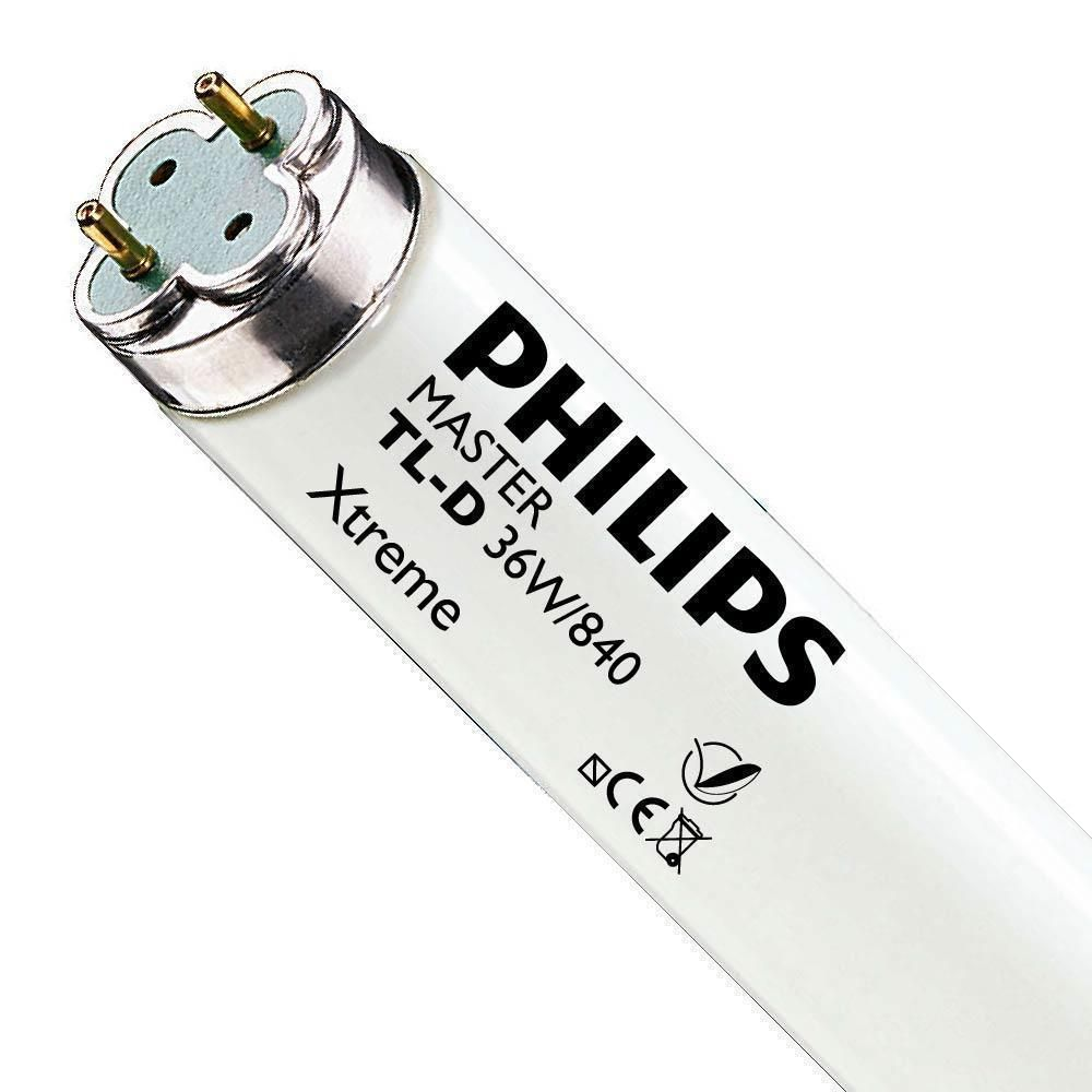Philips TL-D Xtreme 36W 840 (MASTER)   120cm - Blanc Froid