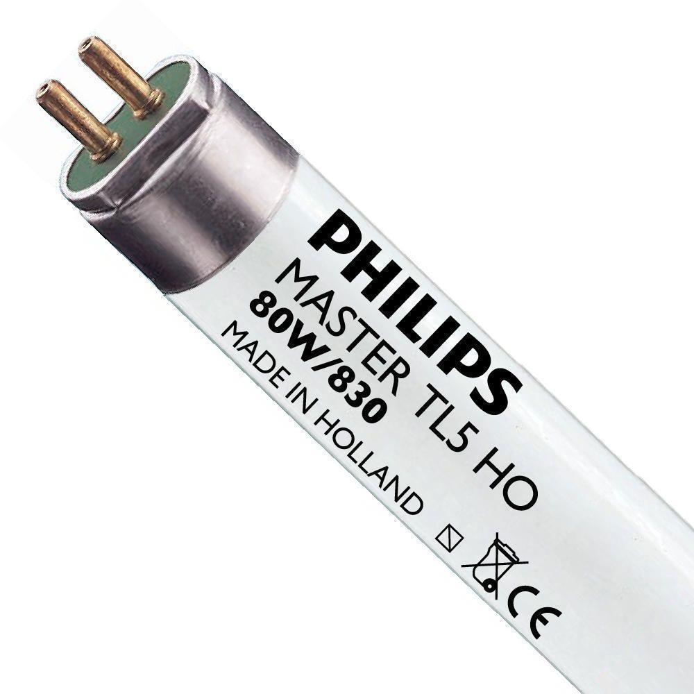 Philips TL5 HO 80W 830 (MASTER)   145cm - Blanc Chaud