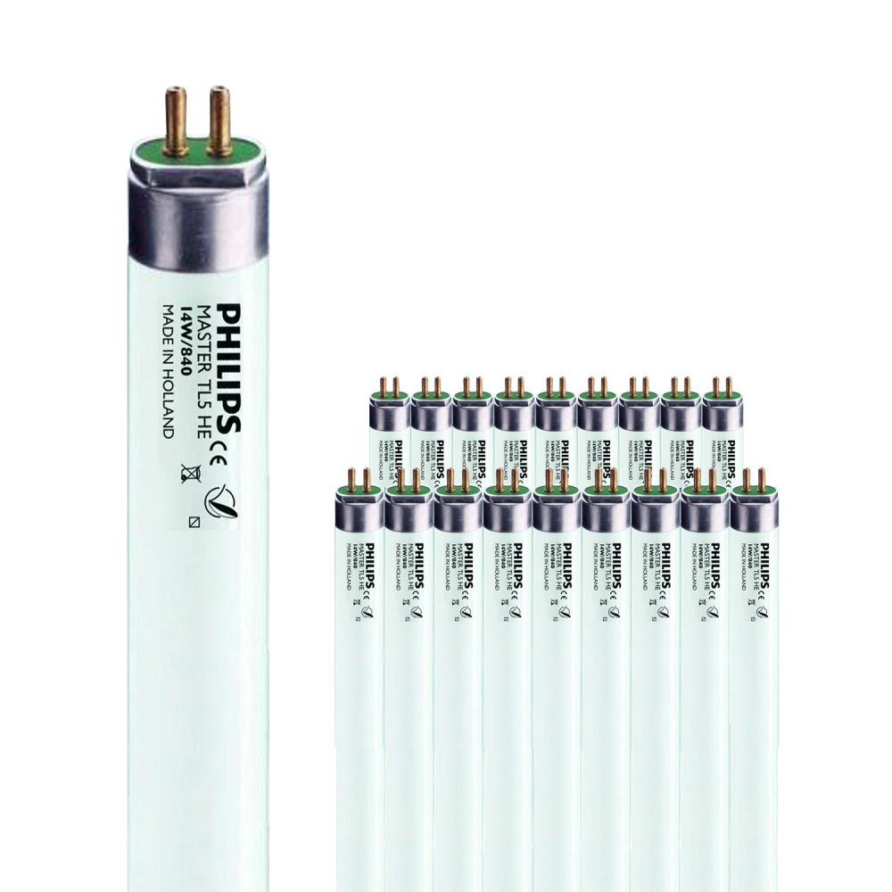 Lot de 40 Tubes Fluorescents Philips MASTER TL5 HE 14W/840 1SL/20