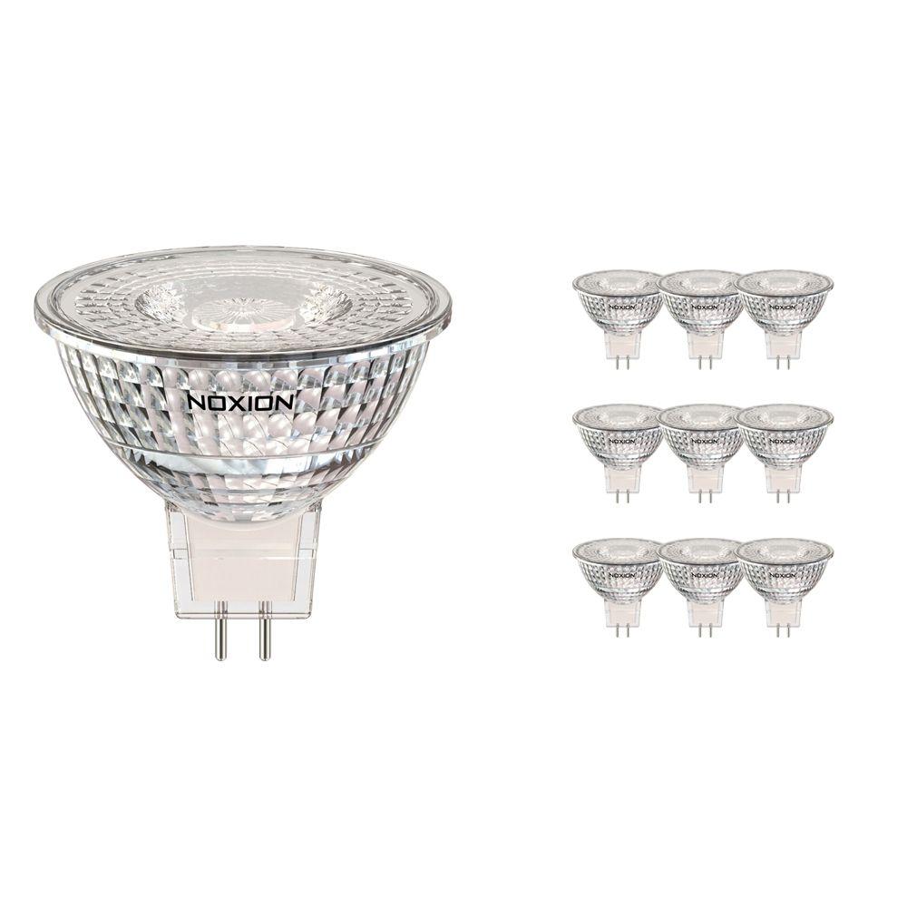Lot 10x Noxion Spot LED GU5.3 5W 830 36D 470lm   Dimmable - Blanc Chaud - Substitut 35W