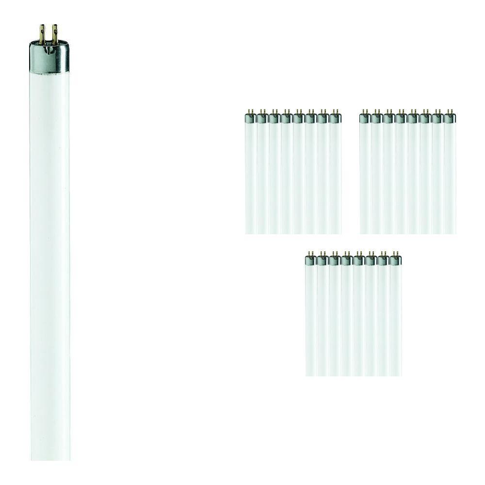 Lot 25x Philips TL Mini 8W 827 Super 80 (MASTER) | 29cm - Blanc Très Chaud