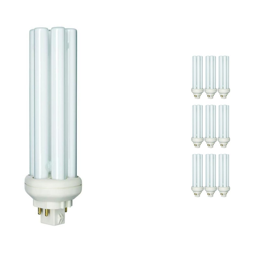 Lot 10x Philips PL-T 42W 840 4P (MASTER)   Blanc Froid - 4-Pins