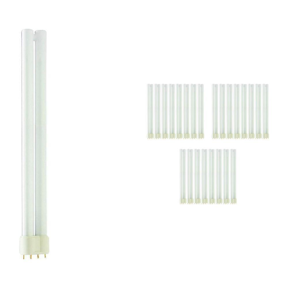 Lot 25x Philips PL-L 24W 830 4P (MASTER) | Blanc Chaud - 4-Pins
