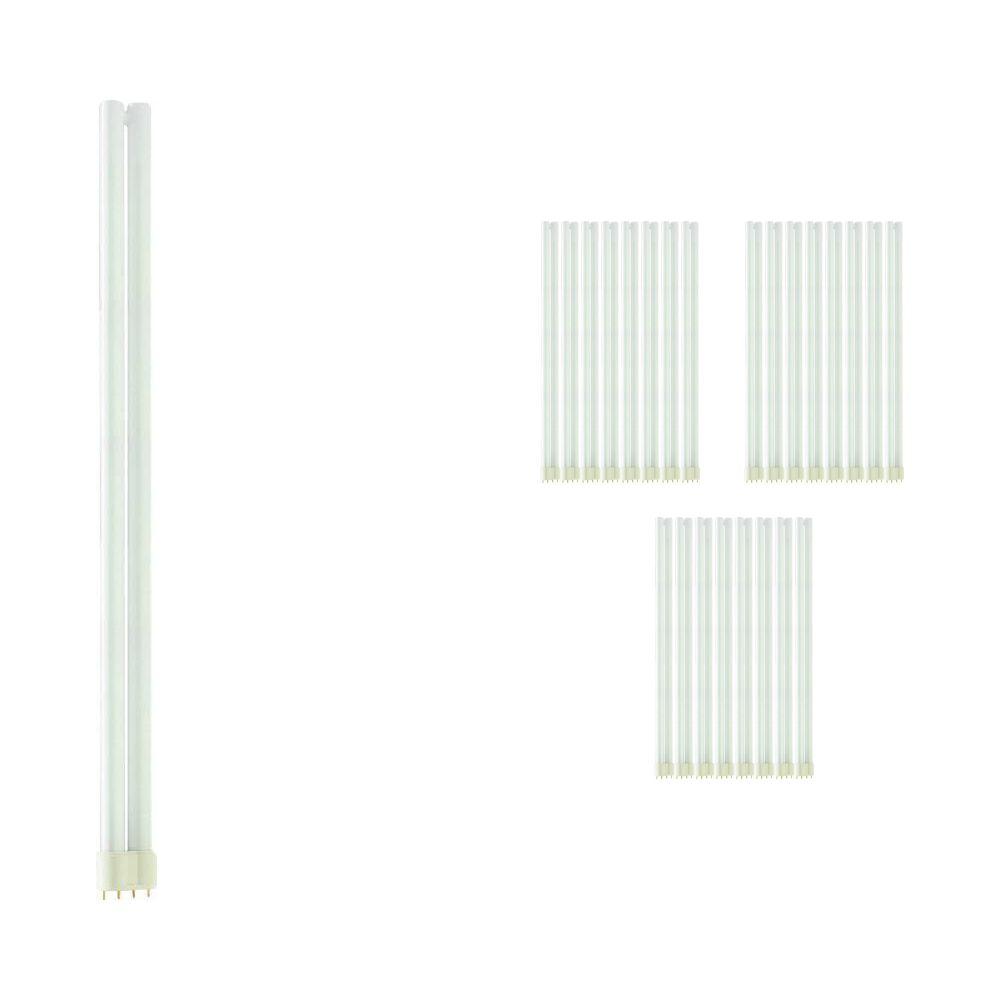 Lot 25x Philips PL-L 55W 830 4P (MASTER) | Blanc Chaud - 4-Pins