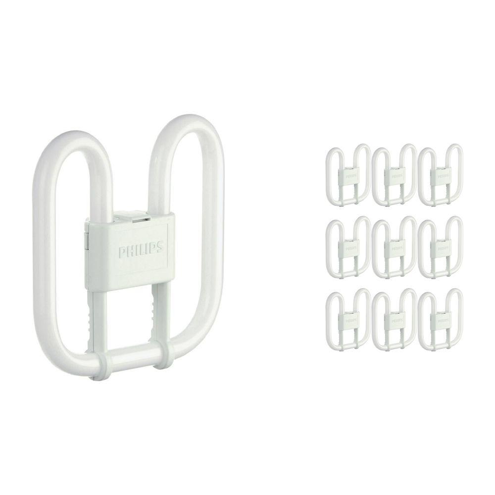 Lot 10x Philips PL-Q 28W 830 4P (MASTER) | Blanc Chaud - 4-Pins