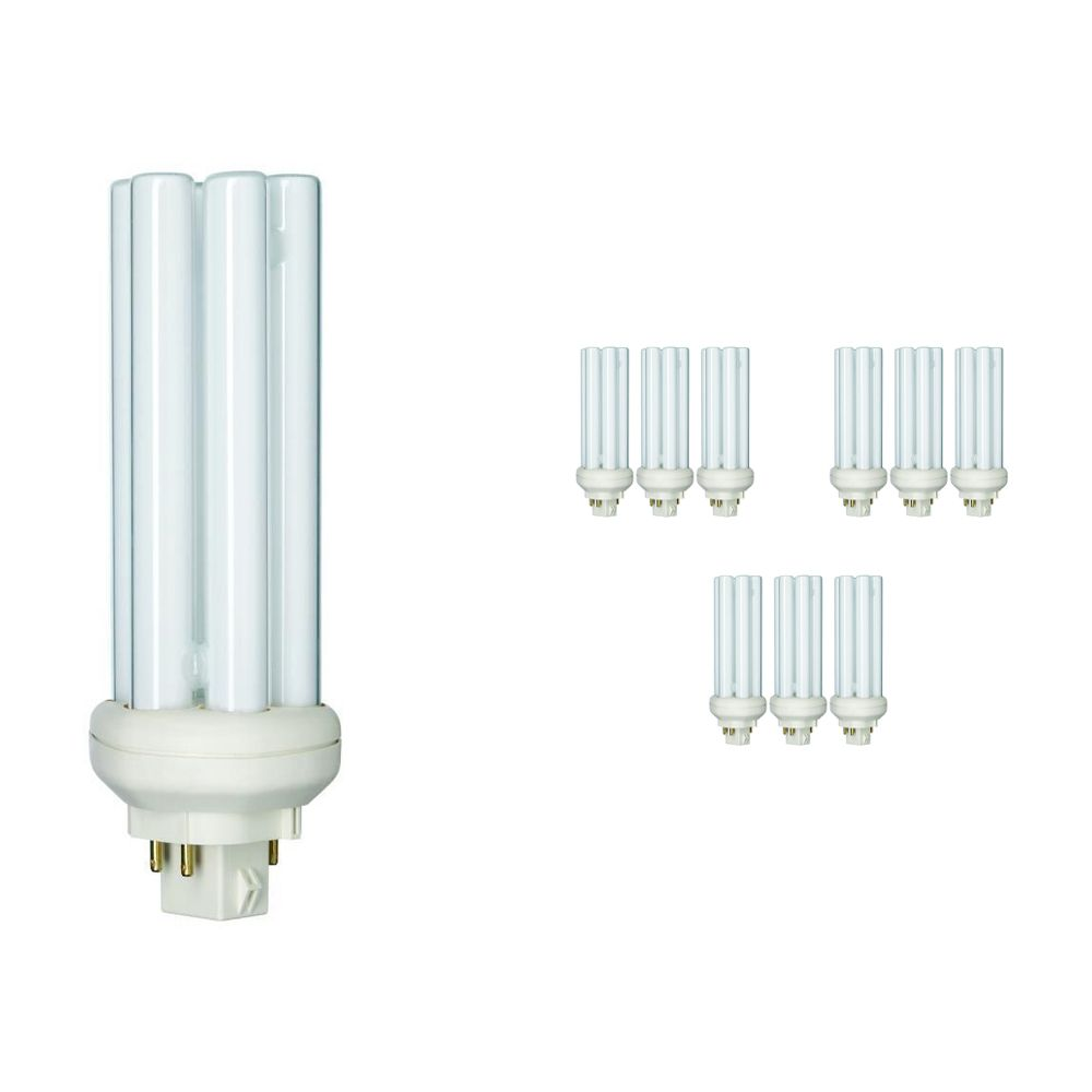 Lot 10x Philips PL-T 32W 840 4P (MASTER) | Blanc Froid - 4-Pins