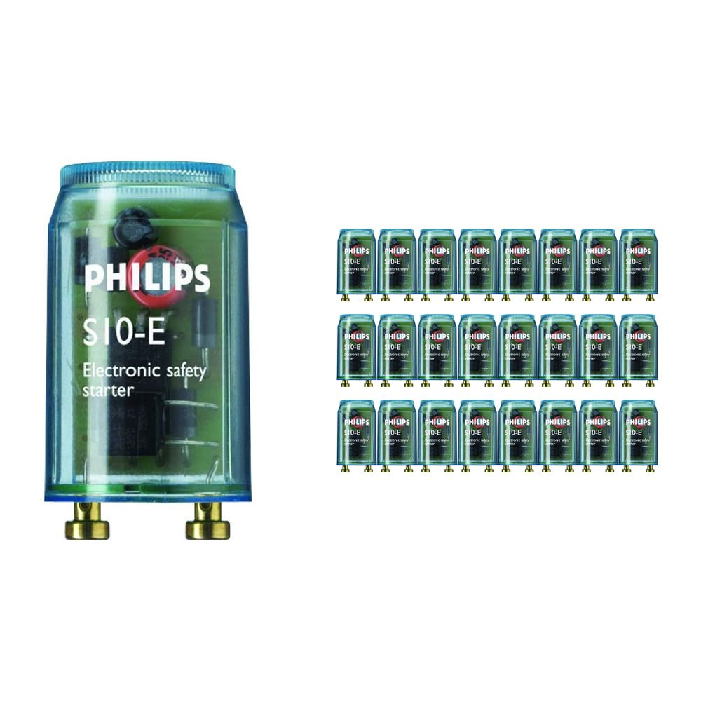 Lot 25x Philips Starter S10E 18-75W SIN 220-240V BL