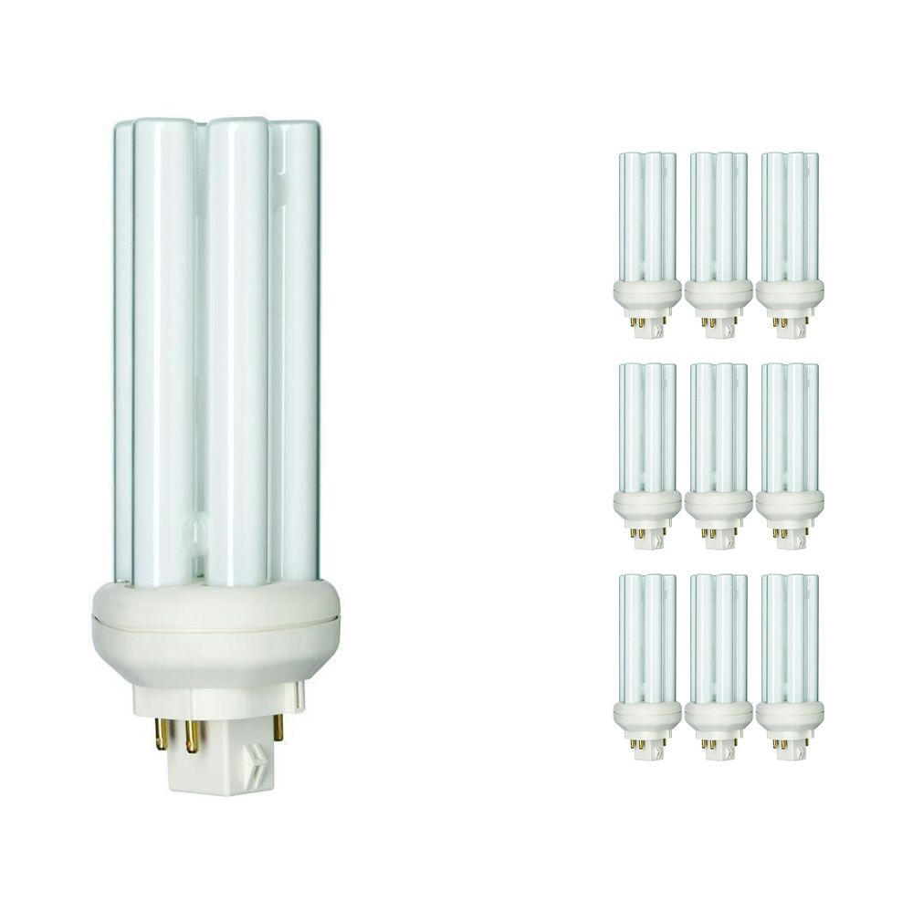 Lot 10x Philips PL-T 26W 840 4P (MASTER) | Blanc Froid - 4-Pins