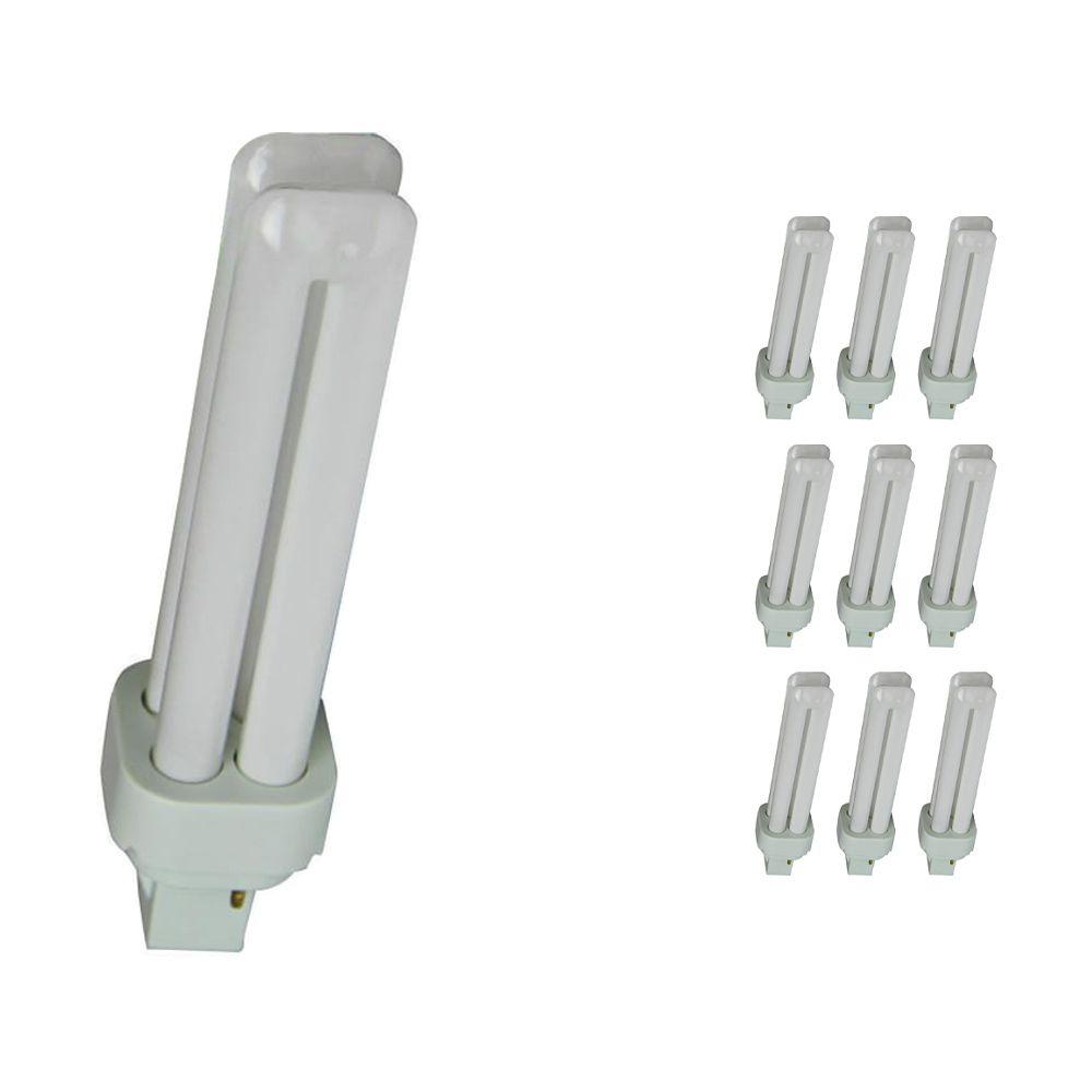 Lot 10x Osram Dulux D 18W 830   Blanc Chaud - 2-Pins