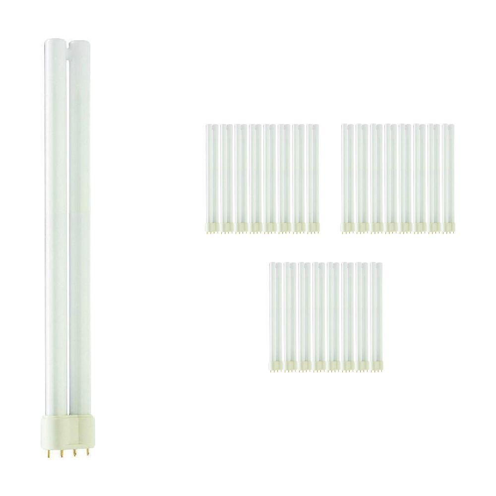 Lot 25x Philips PL-L 24W 827 4P (MASTER) | Blanc Très Chaud - 4-Pins