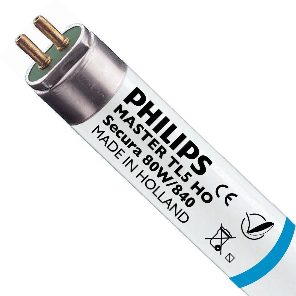 Philips TL5 HO Secura 80W 840 (MASTER) | 145cm - Blanc Froid