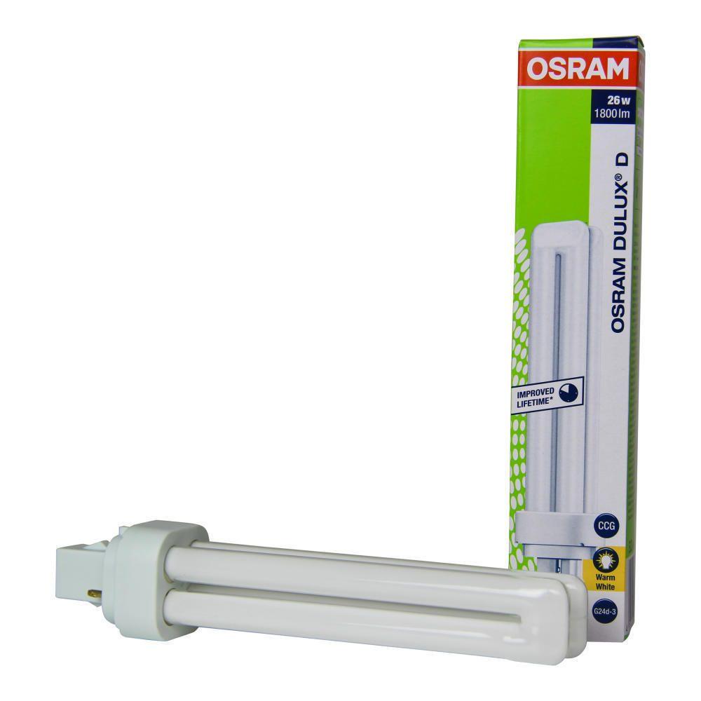 Osram Dulux D 26W 830   Blanc Chaud - 2-Pins