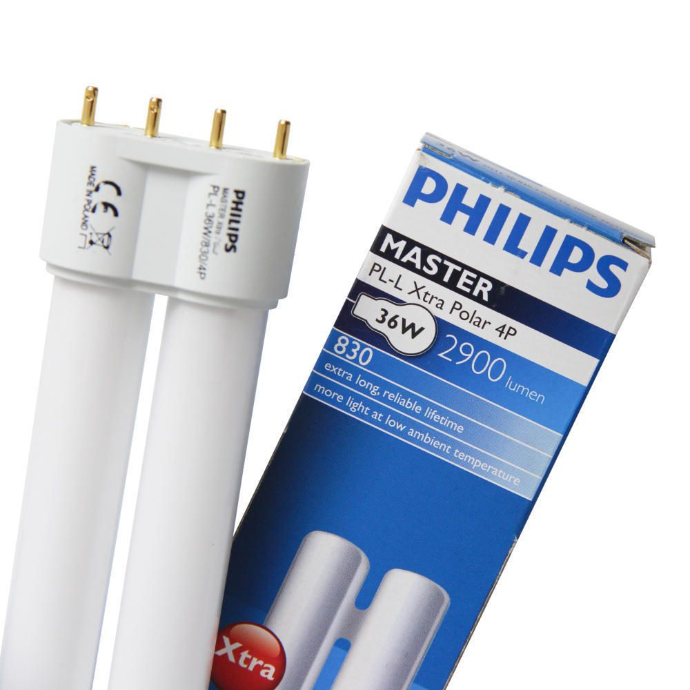 Philips PL-L 24W 840 4P (MASTER)   Blanc Froid - 4-Pins