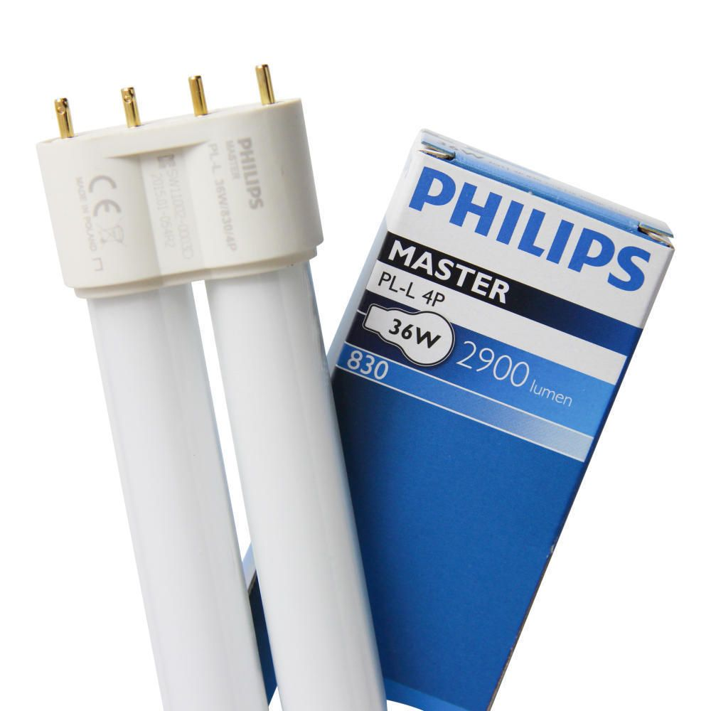 Philips PL-L 36W 830 4P (MASTER) | Blanc Chaud - 4-Pins