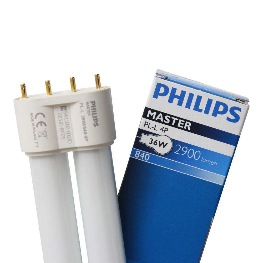Philips PL-L 36W 840 4P (MASTER) | Blanc Froid - 4-Pins