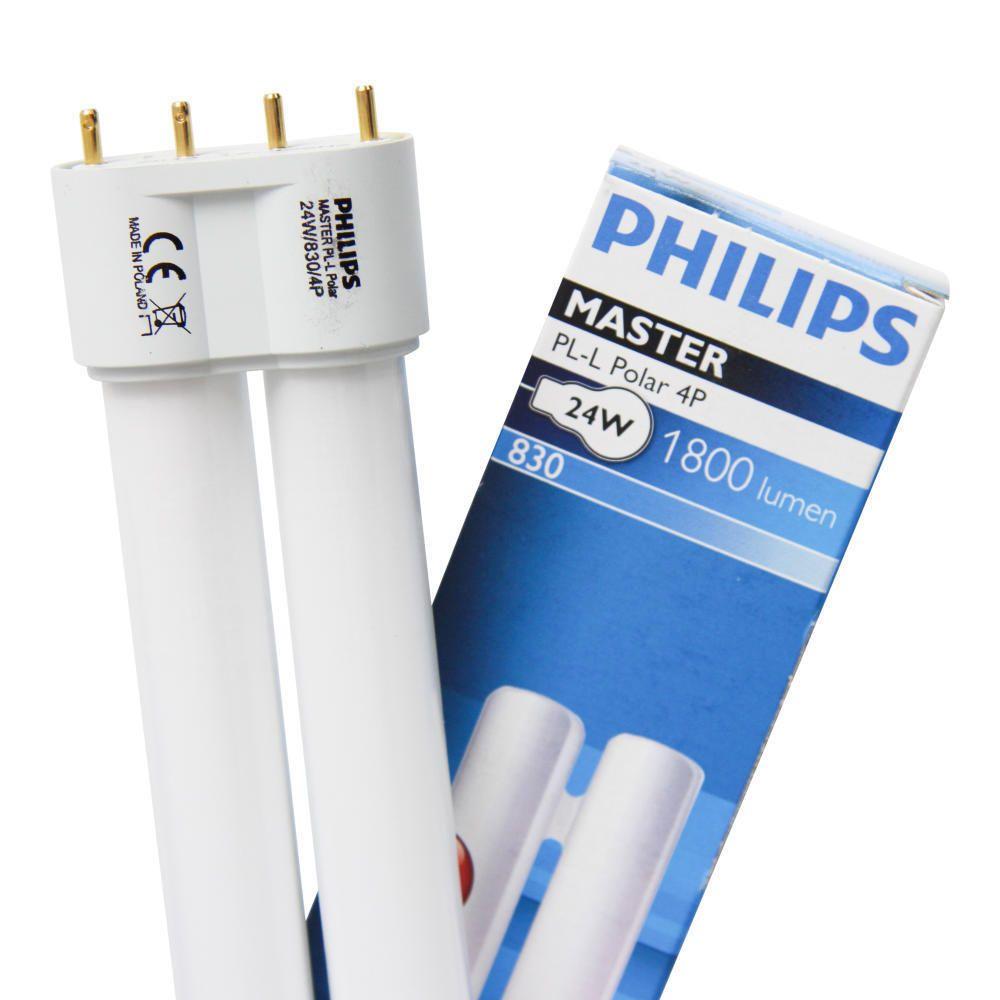Philips PL-L 40W 830 4P (MASTER)   Blanc Chaud - 4-Pins