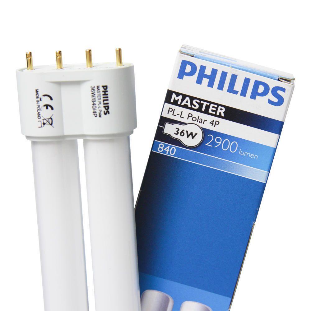 Philips PL-L Polar 36W 840 4P (MASTER)   Blanc Froid - 4-Pins