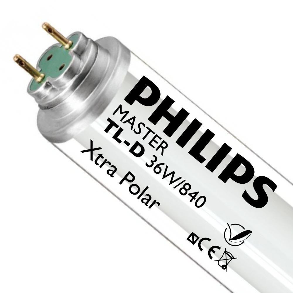 Philips TL-D Xtra Polar 36W 840 (MASTER) | 120cm - Blanc Froid