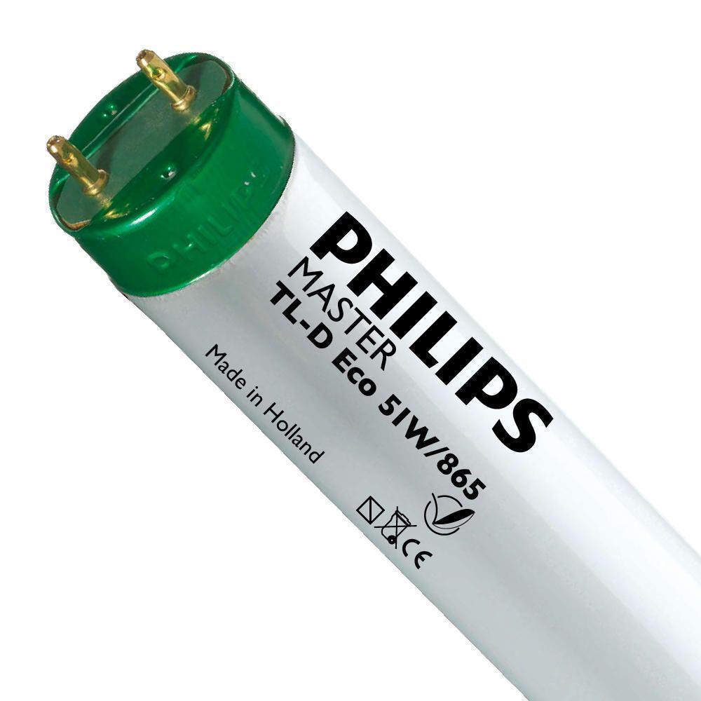 Philips TL-D Eco 51W 865 (MASTER)   150cm - Lumière du Jour