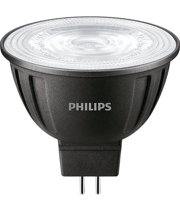 Philips LEDspot LV GU5.3 MR16 8W 830 36D (MASTER) | Blanc Chaud - Dimmable - Substitut 50W