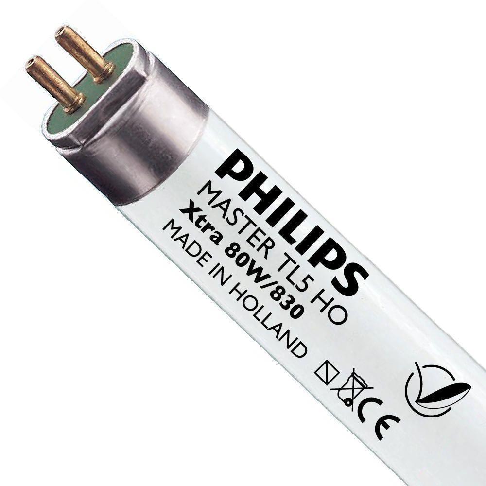 Philips TL5 HO Xtra 80W 830 (MASTER) | 145cm - Blanc Chaud