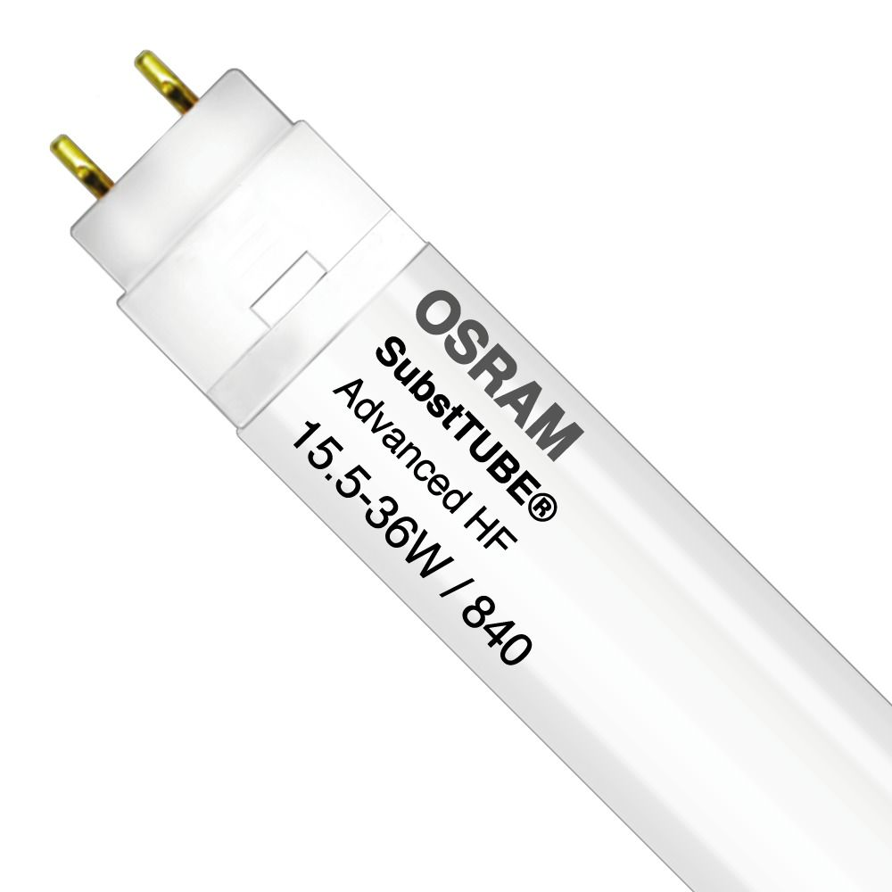 Osram SubstiTUBE Advanced HF UO 15.5W 840 120cm   Blanc Froid - Substitut 36W