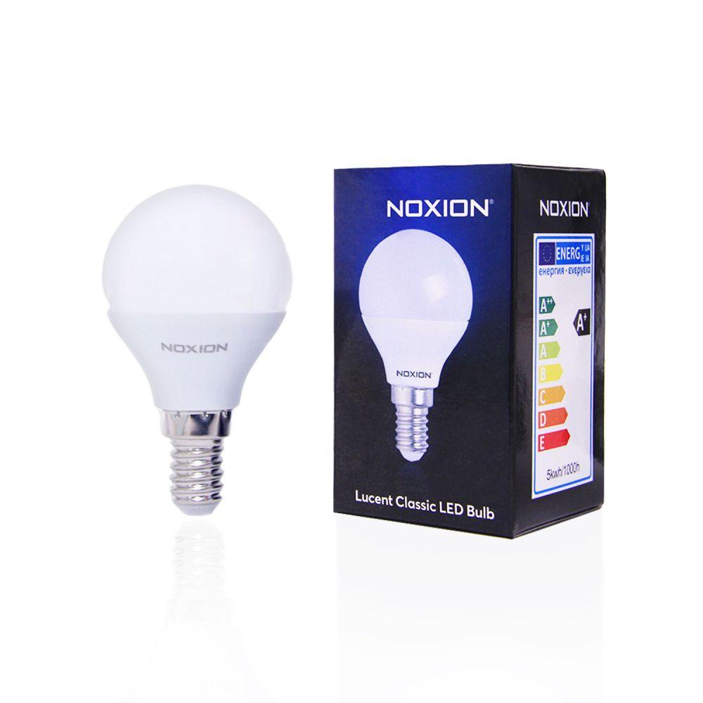 Noxion Lucent LED Classic Lustre 5W 827 P45 E14   Blanc Très Chaud - Substitut 40W