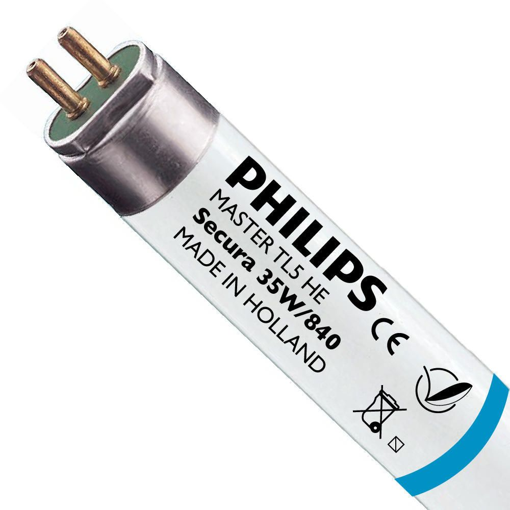 Philips TL5 HE Secura 35W 840 (MASTER)   145cm - Blanc Froid