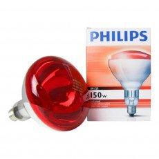 Philips BR125 IR 150W E27 230-250V Rouge