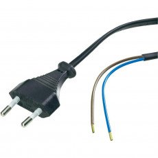 Euro cable 2m Noir