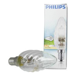 Philips EcoClassic 18W E14 230V BW35 Clear