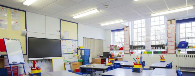 L'éclairage LED pour les écoles