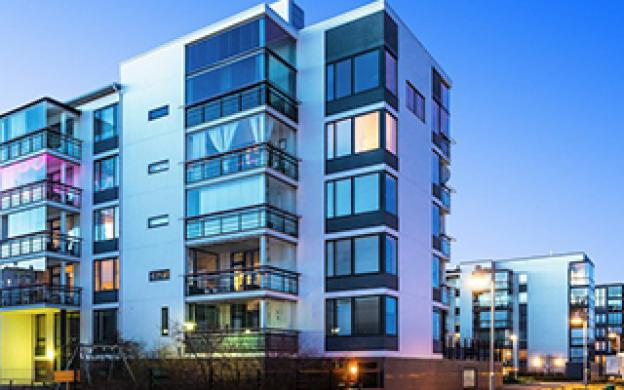 Quelles lumières pour un complexe d'appartements ?