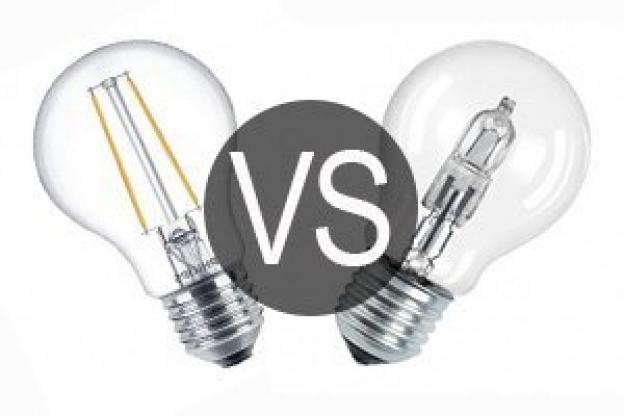 Ampoule LED vs ampoule halogène