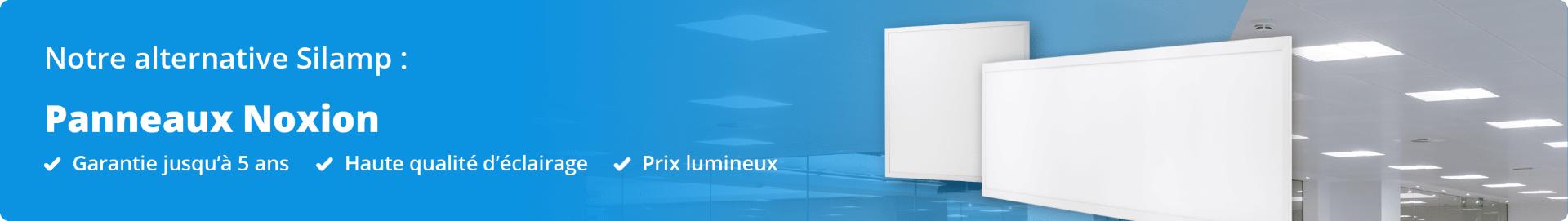 Bannière Panneau LED Silamp