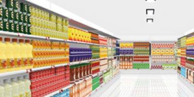 Éclairage pour Supermarchés